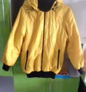 Б/у куртка для мальчика 128-134