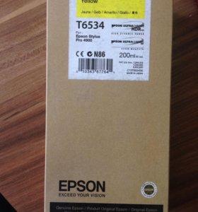 Картридж Epson t6534