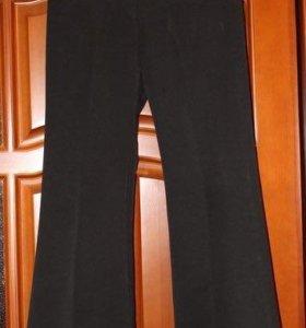 Черные брюки клёш