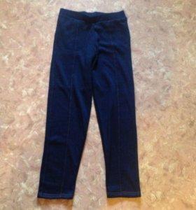 Флисовые лосины новые джинсы