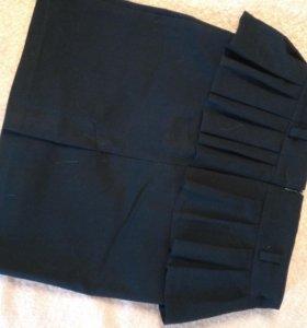 Шикарная школьная юбка 10-11лет