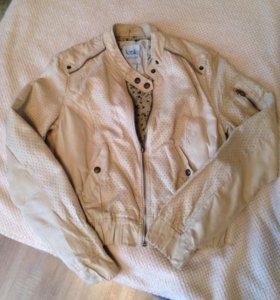 Куртка замшевая, S