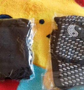 Турмалиновые носки черные  Новые
