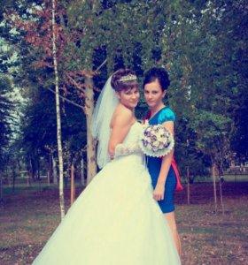 Свадебное платье)))