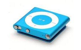 iPod shuffle голубой металлик 2 гигабайта