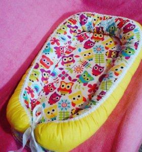 Гнездо кокон для малыша