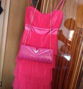 Платье+клатч+подарок