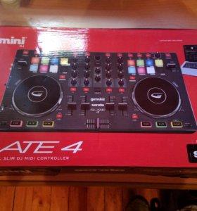 Gemini Slate 4 - 4-канальный DJ-контроллер