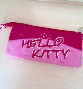 пенал-косметичка hello kitty