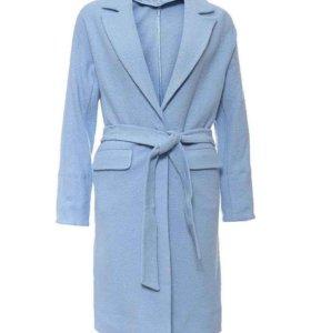Пальто Love Republic голубого цвета