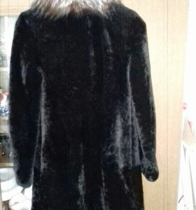 Пальто из мутона 44-46 размер