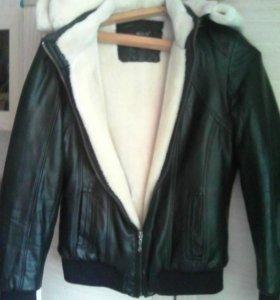 Куртка экокожа женская