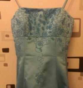 Платье ГОЛУБОЕ ♡