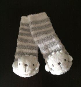Носки-погремушки 2 пары