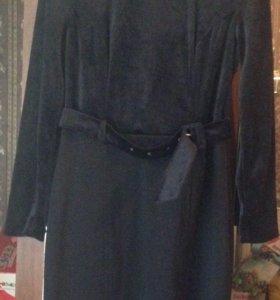 Комплект платье и пальто
