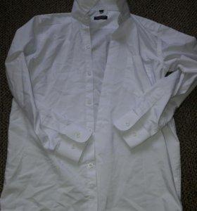 Белая рубашка 134/140