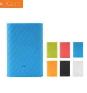 Чехол для Xiaomi Mi Power Bank 10000 mAh (силикон)