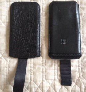 Кожаные чехлы для телефона