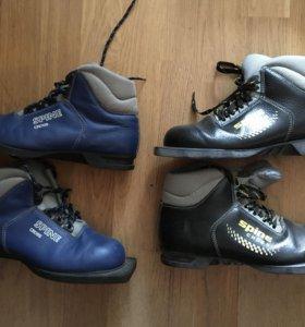Лыжные ботинки spine cross 38