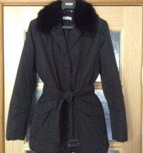 Куртка Marella демисезонная с оторочкой мехом