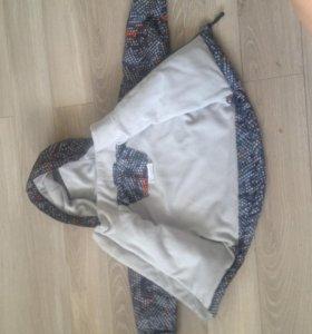 Куртка на флисовом подкладе