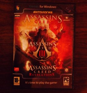 Антология Assassin CREED (для компьютера)