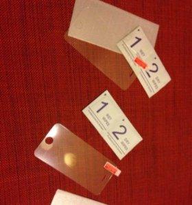 Закаленное стекло iphone 5 5s 5 c