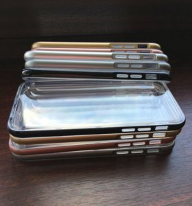 Селиконовые чехлы с бортами для iPhone 6/6s