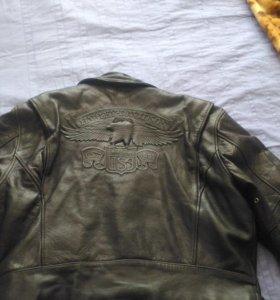 Кожаная куртка Harley-Davidson. Made in USA.