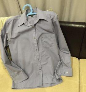 Рубашка школьная рост 158