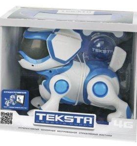 Teksta собака робот игрушка