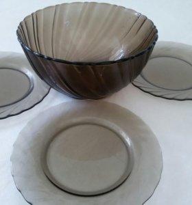 Набор посуды(Франция/стекло)
