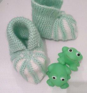 Носочки-пинетки новые