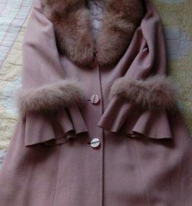 Пальто(драп)