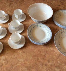 Сервиз Люминарк(набор посуды 26 предметов)