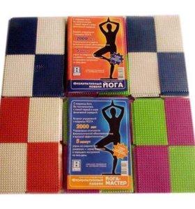 Коврик для йоги физкультурный