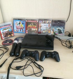 PlayStation 3 500gb (полная комплектация)+7игр