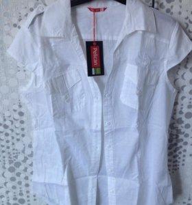 Белая рубашка блузка Pelican новая женская