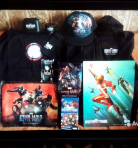 Мстители Avengers Подарок Marvel