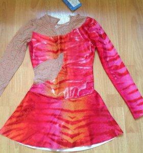 Платье для выступлений с сеткой