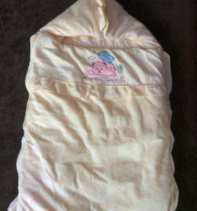 конверт на выписку или одеяло в коляску