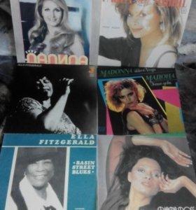 Виниловые Пластинки из колекции