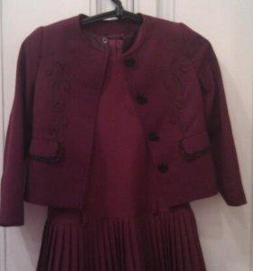 Школьный сарафан + пиджак