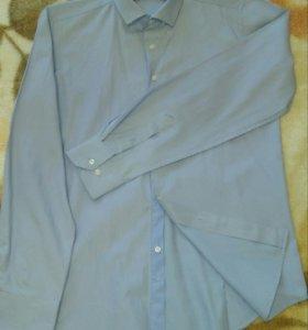 Рубашка приталенная разм. 46-48