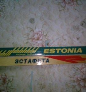 """Лыжи """"Эстафета"""" и """"Estonia"""" 1987 года"""