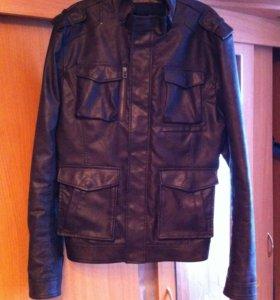 Куртка кожа-зам размер 48-50