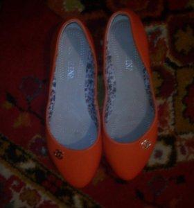 Продаю балетки новые