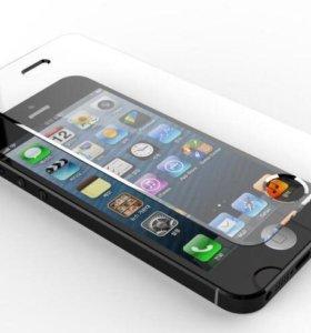iPhone 4/4S, 5/5S, 6/6S, iPad - защитное стекло