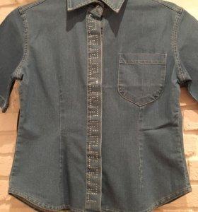 Джинсовая рубашка новая‼️