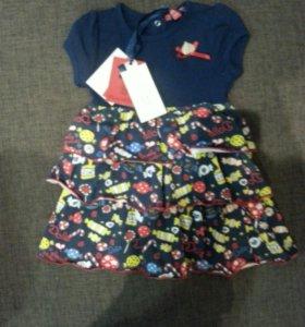 Платье новое для девочки.